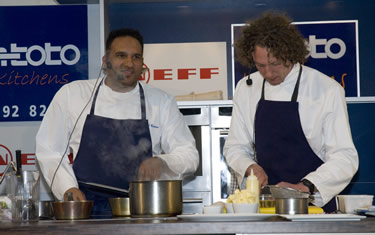 Michael Caines and James Nathan